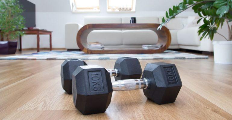 set up home gym